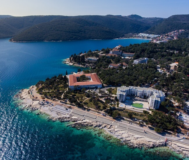 Rabac accommodation
